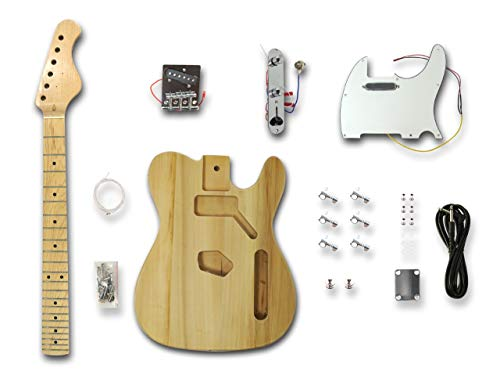 DIY Electric Guitar Kits for Telecaster Style Guitar