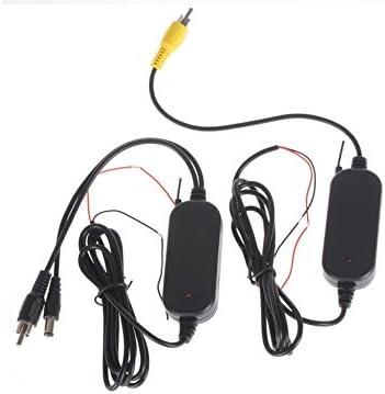 YATEK Kit transmisor inal/ámbrico 2.4G para c/ámara Marcha atr/ás a Color Transmite y recibe la se/ñal hasta 10 Metros