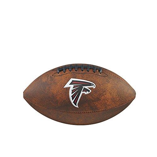 Wilson Atlanta Falcons Logo Football (NFL Junior Throwback Team Logo Football - Atlanta Falcons)