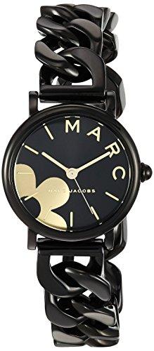 Marc Jacobs Women's MJ3596 Marc Jacobs Classic Analog Display Quartz Black - Jacobs Watches Black Women Marc