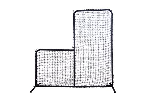 Ascent Sports Baseball Pitcher's L Screen 7' x 7' - 1.5
