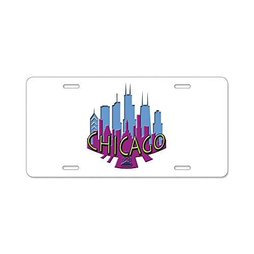 cafepress-chicago-skyline-newwave-cool-aluminum-license-plat-aluminum-license-plate-front-license-pl