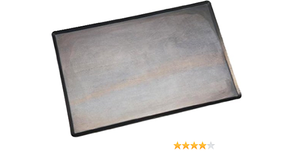 530x325mm Bourgeat Black Steel Baking Tray with Non Stick Finish