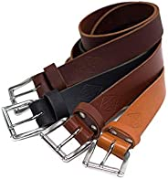 "Authentic Leather Belt For Men, 1.5"", Personalized Belt, Handmade in Arizona, Full Grain Le"