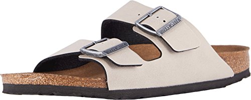 Birkenstock New Unisex Arizona Slide Sandal Stone Pull Up 44 R ()