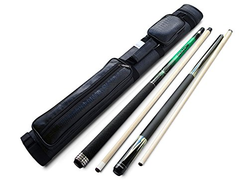 Buy Cheap Champion Green Spider Maple Pool Cue Stick (18-21oz), Champion ST Breaking cue, 2X2 Black ...