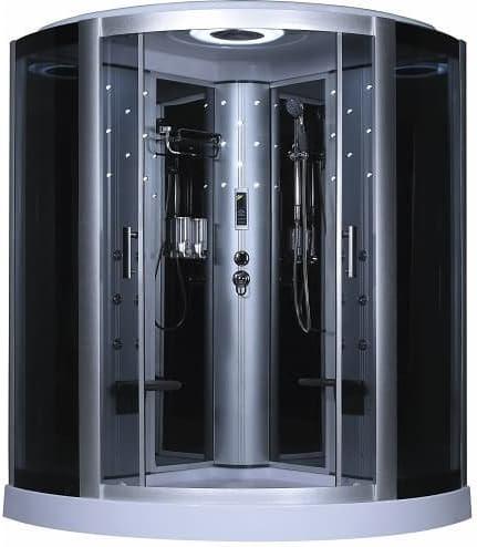 Genérico de cabina de ducha con hidromasaje 2 personas 145 x 145 x ...