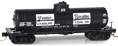 Micro-Trains MTL N-Scale 39ft Single Dome Tank Car - Imperial Gasoline #7010
