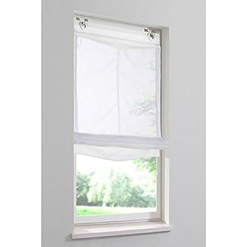 Raffrollo Aufhängen home wohnideen raffrollo home wohnideen saalfeld 1 stück weiß
