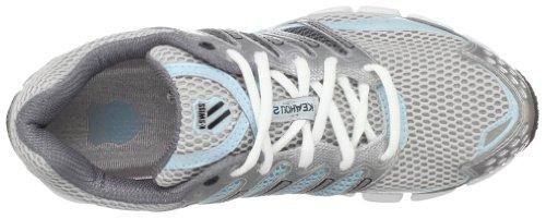 K-Swiss KEAHOU II NP 92563-032-M - Zapatillas de correr para mujer Plateado