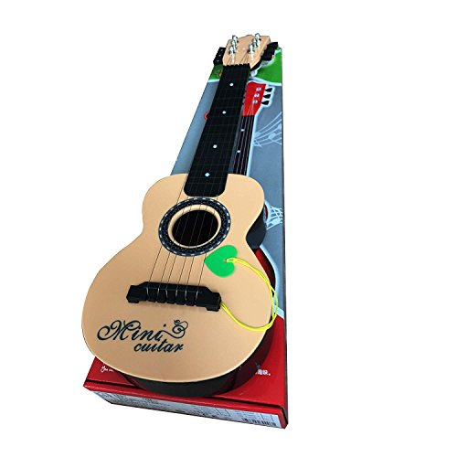 Gracetop Mini Guitar Instrument kid toy gift 6 string 21″ Tight String Mechanism and Vibrant Sounds Learn To Play