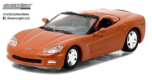 2012 Chevrolet Corvette Convertible Inferno Orange General Motors Collection Series 1 1/64 by Greenlight 27870 C
