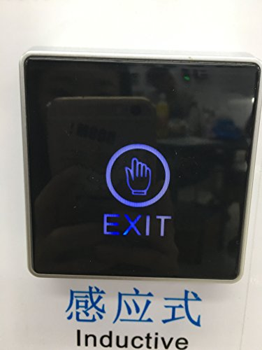 Exit Button Output Contact NO NC COM Touch Exit Button for Access Control by FCARD