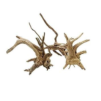 Madera Raíz del árbol Tronco Natural Driftwood Acuario Pecera Planta Tocón Ornamento Decoración Paisajismo: Amazon.es: Juguetes y juegos