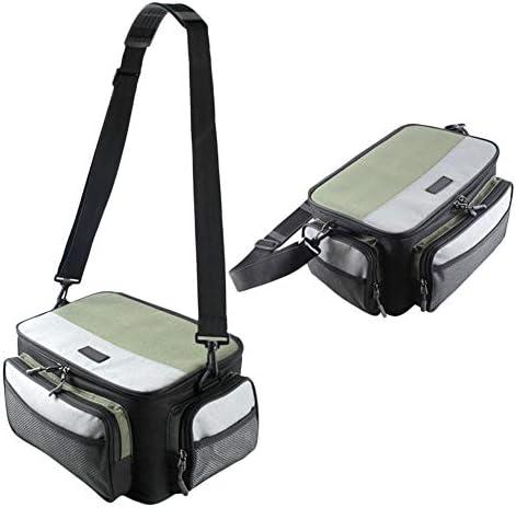 BTFirstスクエア釣りギアバッグジッパーボックス餌箱ウエストショルダー収納袋釣り道具収納容器釣り道具収納 バック ハイキング