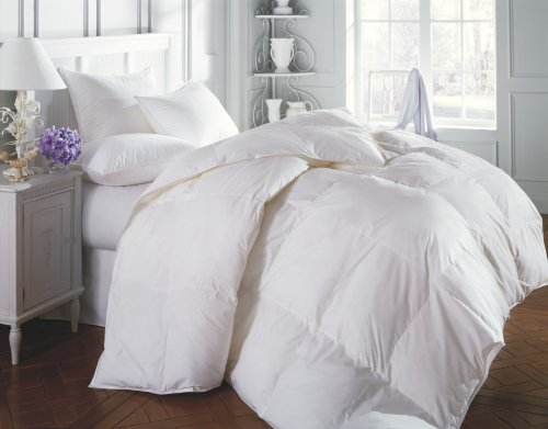 3 piece Luxury WHITE Goose Down Alternative Comforter set, F