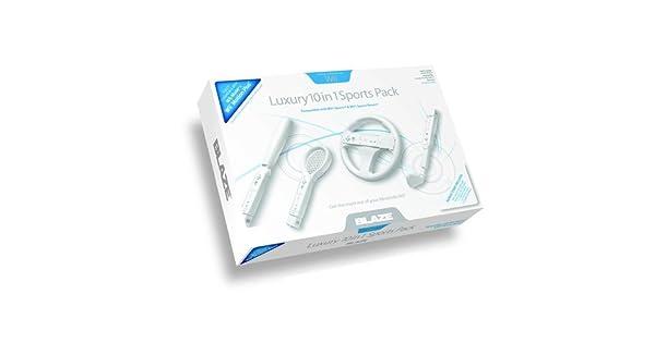 Wii Luxury 10 In 1 Sports Pack [Importación italiana]: Amazon.es: Videojuegos