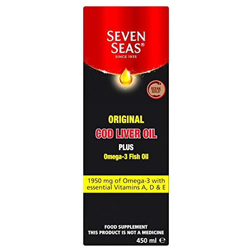 Seven Seas | Cod Liver Oil Liquid - Traditional | 1 x 450ml