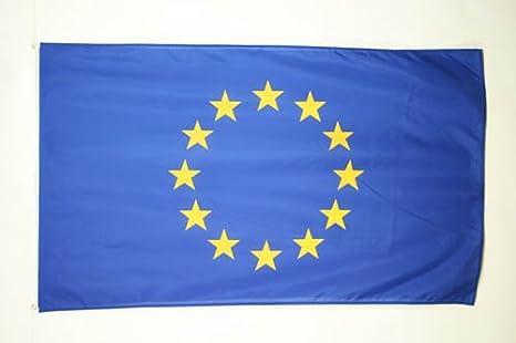 AZ FLAG Bandera de Europa 90x60cm - Bandera Union Europea - UU.EE 60 x 90 cm: Amazon.es: Hogar