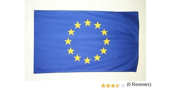 AZ FLAG Bandera de Europa 250x150cm - Gran Bandera Union Europea - UU.EE 150 x 250 cm: Amazon.es: Jardín