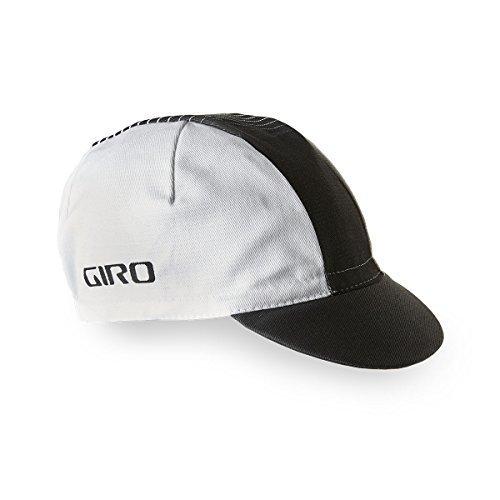 Giro Classic Cotton Cap White/Black, One Size (Black Cycling Cap)