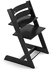 Stokke Tripp Trapp Chair - Black (No Harness, No Extended Glider, Chair Only)