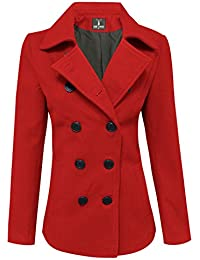 Amazon.com: Reds - Wool & Blends / Wool & Pea Coats: Clothing ...