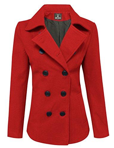 Red Wool Jacket - 6