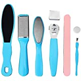 8 in 1 Professional Pedicure kit Set Pedicure Rasp Foot File Callus Remover for Dead, Hard Skin, Cracked Heels, Dry Feet…