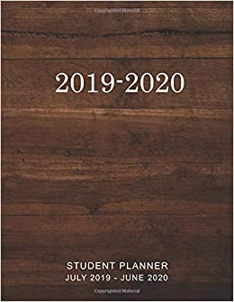 Student Planner 2019-2020: 2019-2020 Daily Weekly Monthly ...