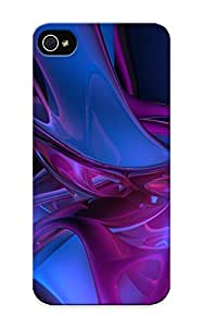 Ednahailey Hmspgk-5559-zmicsqx Case Cover Skin For Iphone 5/5s (abstract Purple Pink Blue)/ Nice Case With Appearance
