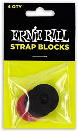 【正規品】 ERNIE BALL 4603 落下防止 ストラップ・ブロック STRAP BLOCKS