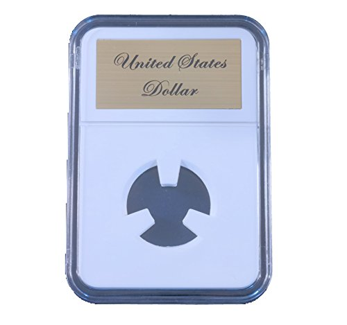 Silver Us Type Coin - Little Bear Elite Certified-Style Coin Holder US Gold Dollar (Type II & III)