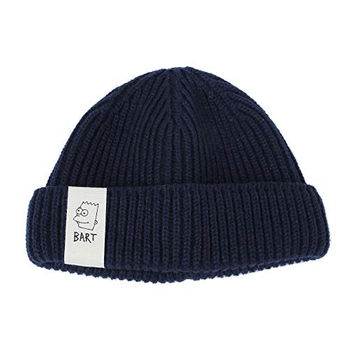 a5976071653 Jual WITHMOONS The Simpsons Beanie Docker Leon Hat Bart Patch ...