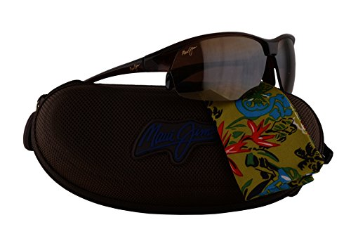 Maui Jim River Jetty Sunglasses Rootbeer Brown w/Polarized Bronze Lens - Road Shops Jetty