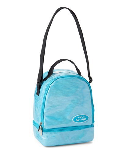 American Jewel - Back to School - Customizable Insulated Lunch Bag with Stickers and Adjustable Strap - -