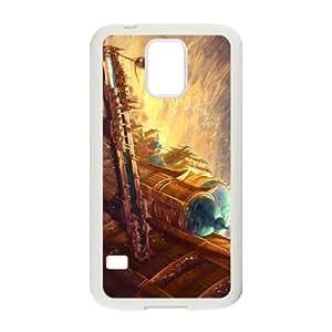 diablo iii Samsung Galaxy S5 Cell Phone Case White yyfD-083172