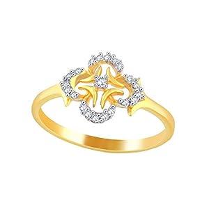 Giantti Women's 14KT Diamond Ring - IGL Certified (0.11 Ct, I1 Clarity, GH-Colour)