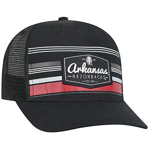 official photos 5b1d9 2c278 ... switzerland amazon top of the world arkansas razorback mens trucker hat  route adjustable cap sports outdoors