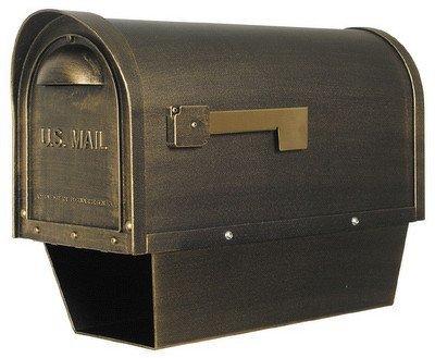 Classic Curbside Mailbox w Paper Tube (Swedish - Post Swedish Box