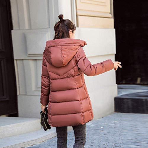 Gruesa Medium Cálido Mujer Tamaño De Piel Falsa Delgada Oudan Abrigo Al Para Moda Invierno Abrigos Damas Chaqueta Coffee1 color Aire Ocio Libre pAv1q