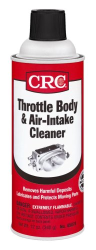 CRC 05078 Throttle Body and Air-Intake Cleaner - 12 Wt Oz.