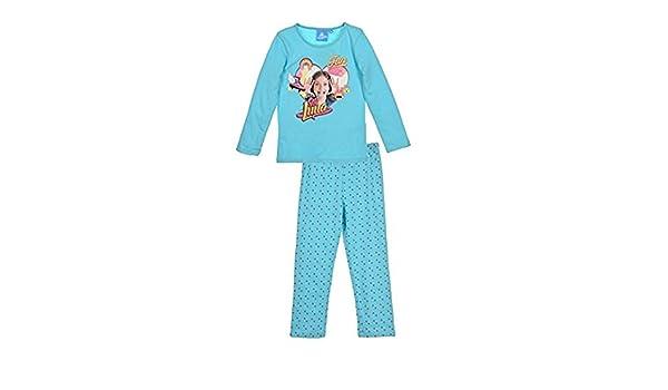 SOY LUNA - Pijama - para niña Azul azul 6 años: Amazon.es: Ropa y accesorios