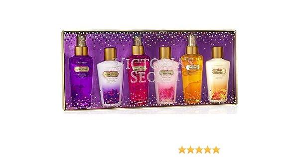123a68a64f Amazon.com   Victoria s Secret Garden Collection Mini Body Lotion   Body Mist  Set - 6 Pcs Gift Set   Fragrance Sets   Beauty