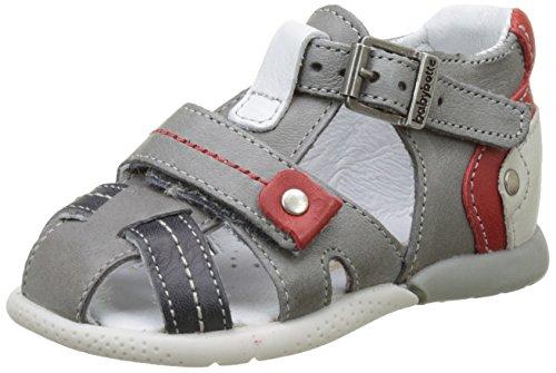 babybotte Gepeto - Zapatos de primeros pasos Bebé-Niñas gris