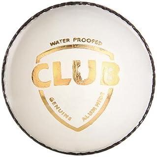 G&S SG Club Cuir Boule, Quatre Pitch (Blanc) Balle de Cricket