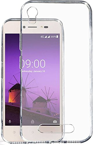 buy online 446e4 25622 Lava Z50 Transparent Soft Back Cover by Arihant Sales: Amazon.in ...