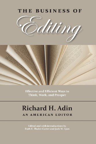 The Business of Editing by Waking Lion Press