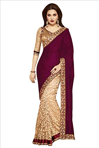 Women's Saree Sari Designer Indian Dress Bollywood Ethnic - Sarees Indian