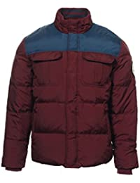 Chuck Taylor All Stars Men's Wine Color Block Insulated Jacket